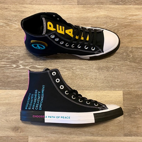 Converse Other - Converse Chuck Taylor All-Star Hi Seek Peace Shoes